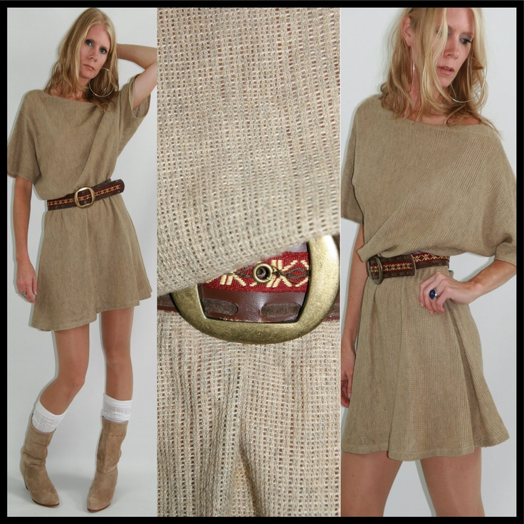 burlap sack dress I think this one might be the one I