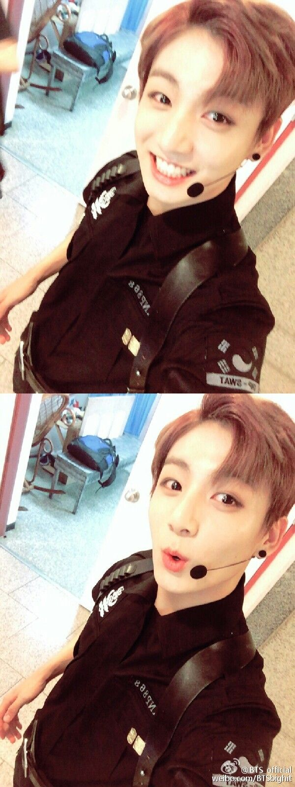 Jungkook tho <3 He is so cute, only if dreams came true :/