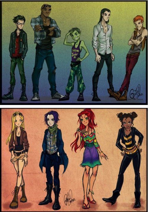 modernized-teen-titans