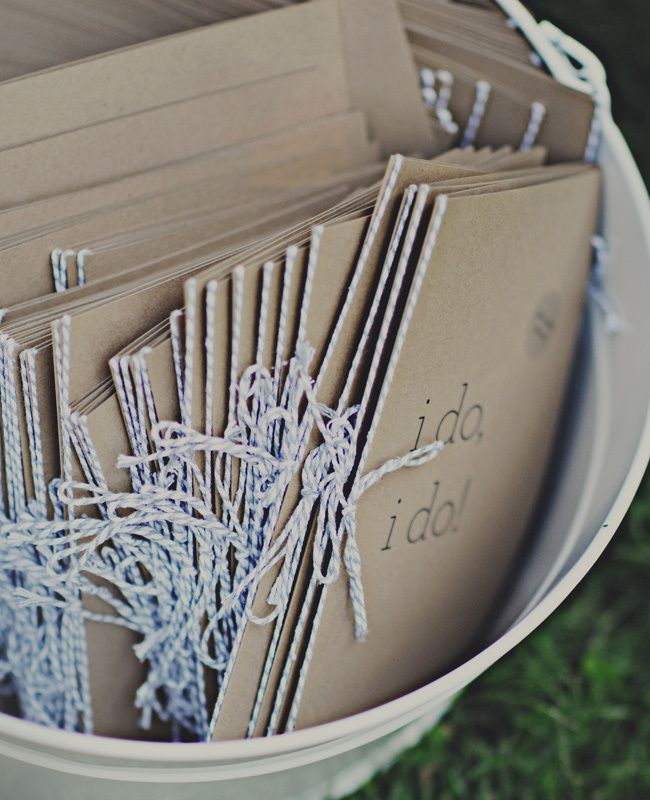 7 Ways To Use Kraft Paper In Your Wedding - The Knot Blog