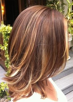 Color Melting Highlights | Melting method with Aveda color ~looks like ombre done with highlights