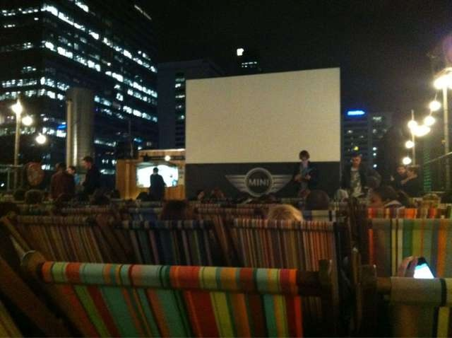 17 best images about rooftop cinema on pinterest pink for Terrace theater movie times