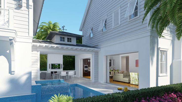 17 best images about island style on pinterest vero for Florida residential architects