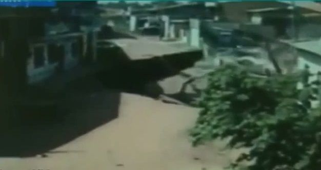 The Gates Of Hell Are Opening And Swallowing Us- With massive sinkhole swallowing up a block in brazil on Saturday, sinkholes opening up around the world  (Stunning Video Compilation) | Environment