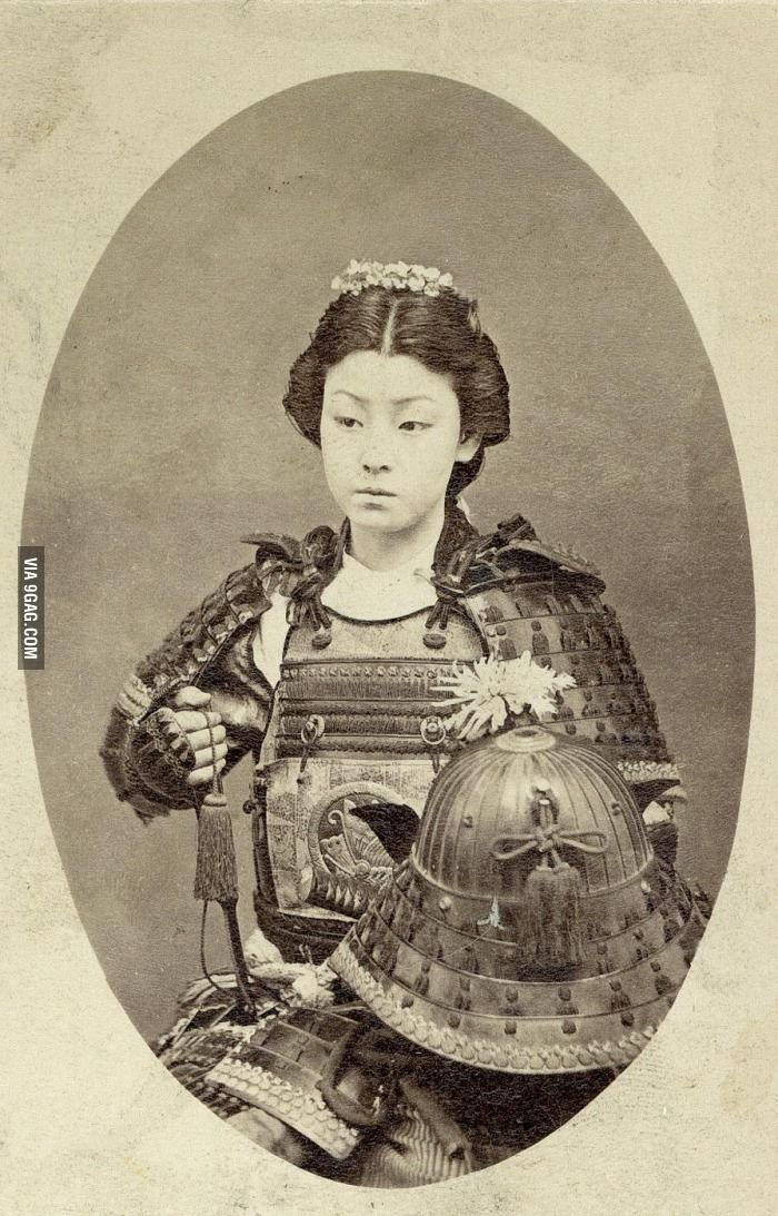Rare photo of a Female Samurai... Most Awesome Picture EVA! She is my new hero!