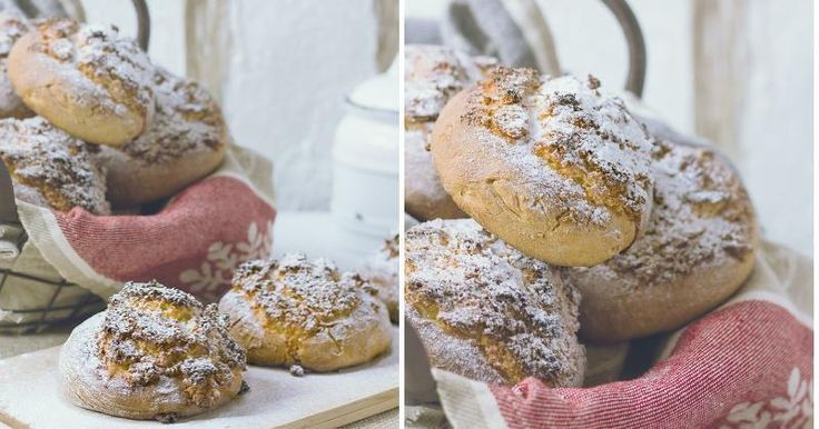Pao de Deus o Pan de Dios: pan dulce portugués