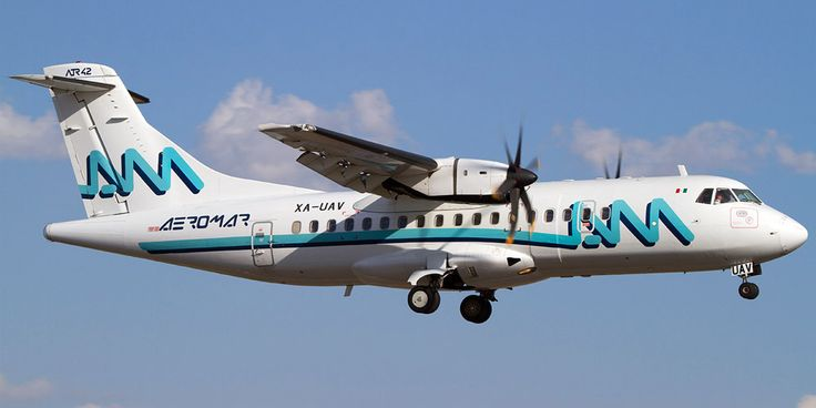 ATR 42 авиакомпании Aeromar