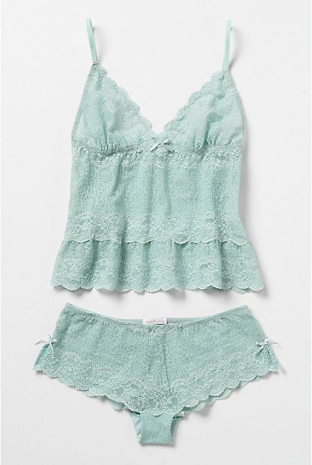 PRETTY LITTLE UNDERTHINGS: Hump Day Pick: Swept Asea Set by Samantha Chang I love to sleep in these in the Summer