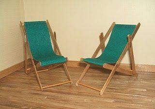 OFFICINA KRIATIVA DA CRIS: Fazendo uma cadeira para jardim.