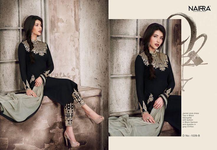 Indian Pakistani Anarkali Salwar Kameez Designer Suit Bollywood Dress SM NRB #FashionBazar #Festive