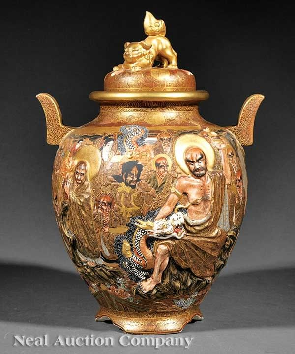 394 Best Images About Satsuma Dragon Ware Moriage