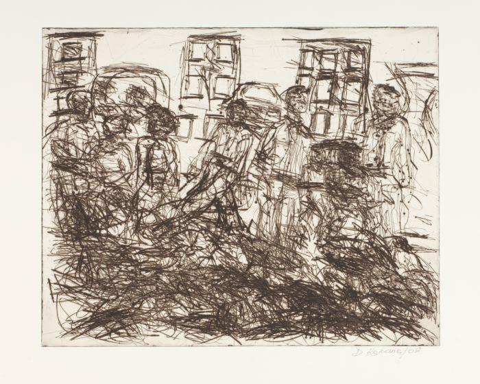 Commuters by David Koloane | DAVID KRUT PROJECTS