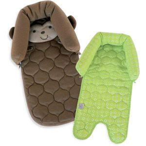 Child Of Mine Monkey Duo Head Support, Green