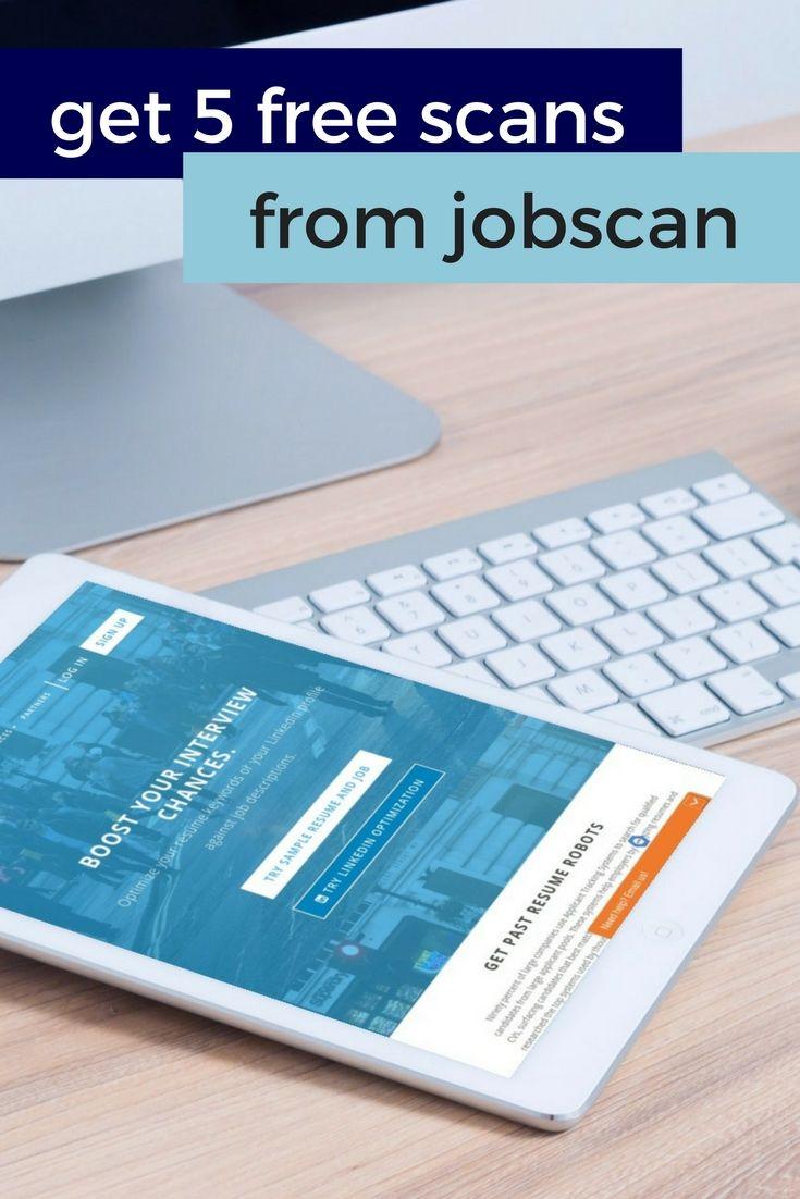 Jobscan analyzes your resumeu0027s or LinkedIn profileu0027s