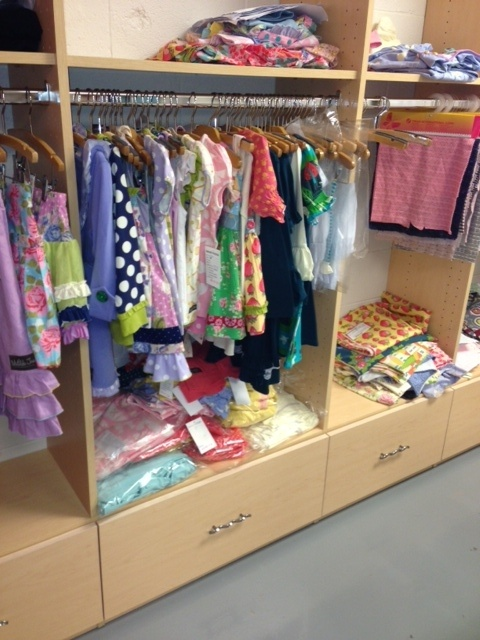 High Quality New Storage At Matilda Jane Clothing