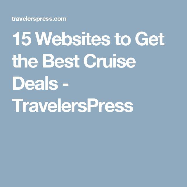 15 Websites to Get the Best Cruise Deals - TravelersPress