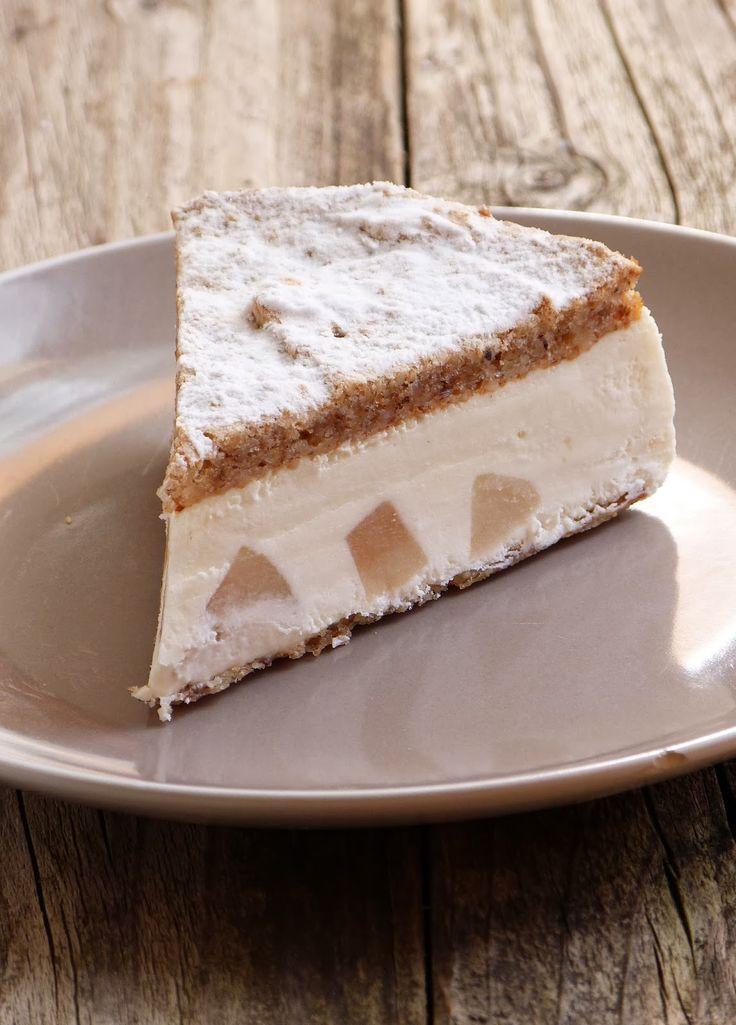 Gâteau ricotta et poires de Sicile
