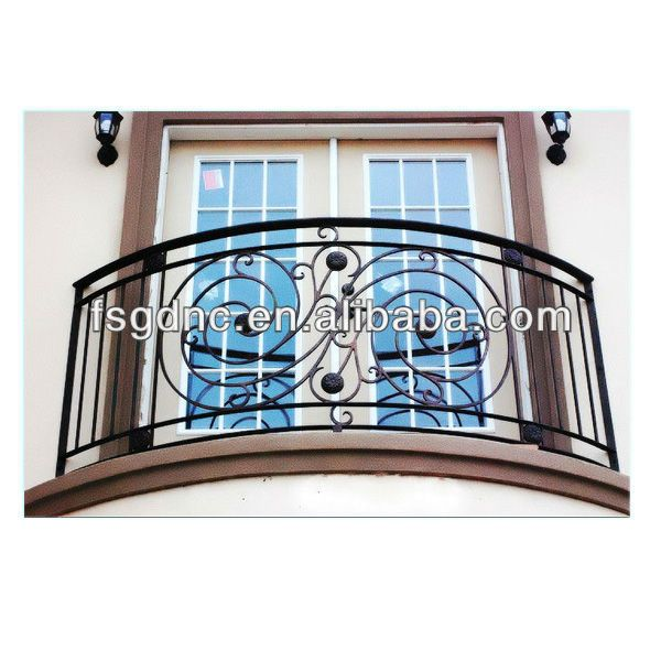 Wrought Iron Balcony Designs   High Quality Wrought Iron Balcony Railing Designs