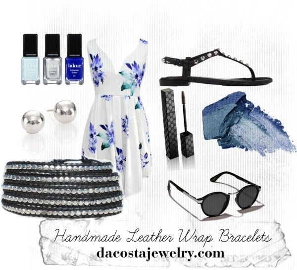 """Balance Da Costa Wrap Bracelet #silver #fashion #summer"" by dacostajewelry on Polyvore"
