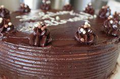 Szofika a konyhában...: Piskóta+párizsi krém=Csokitorta