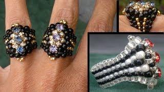 beading Ring tutorials - YouTube