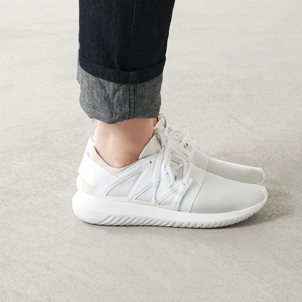 promo code 2044a 11a18 Adidas Tubular Viral W  Core White  Womens shoes S75583   eBay