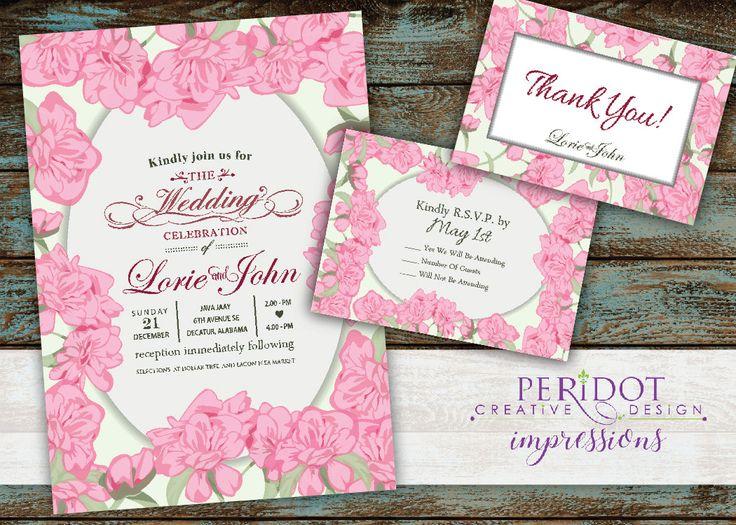 72 best Wedding Invitations images on Pinterest Bridal invitations