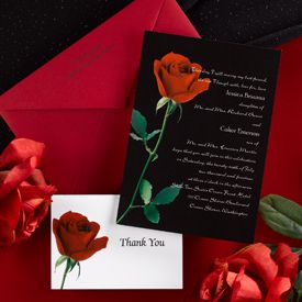 12 best Black Red Invitations images on Pinterest Wedding