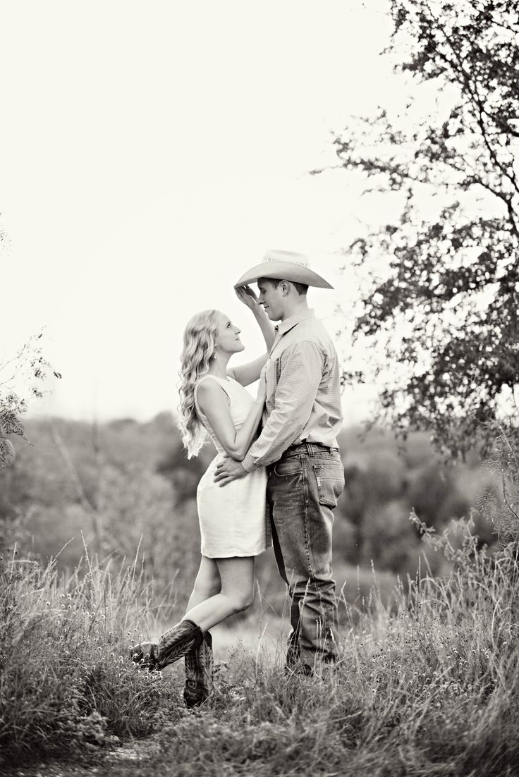 This would be really cute considering our wedding venue and we already have our boots and hats ready!