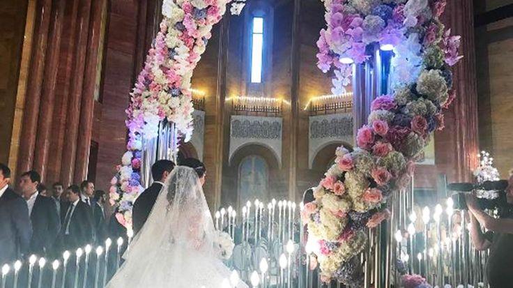 When a Russian billionaire's son marries a social media star