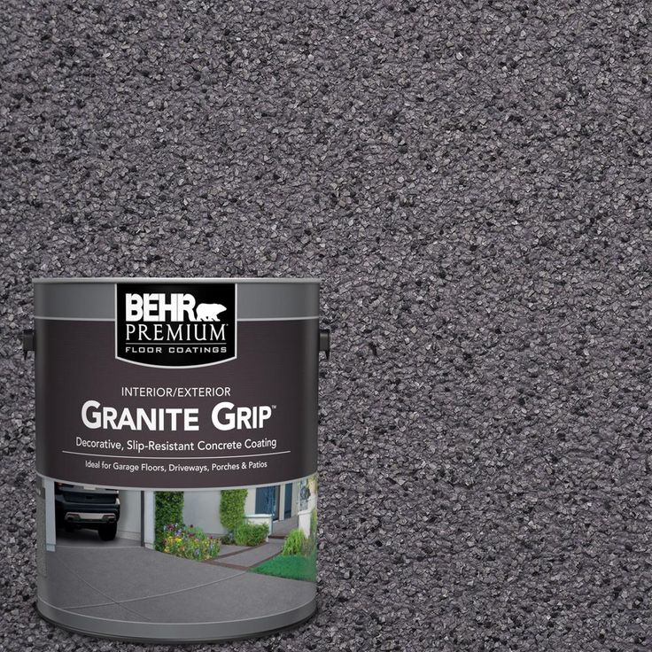 BEHR Premium 1 Gal. #GG 06 Vineyard Rock Decorative Concrete Floor Coating