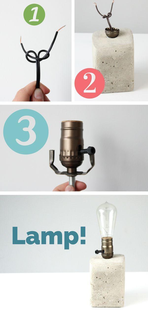 Lamp Wiring Kit Antique Brass Brown Diy Lamp Shade Lamp Diy Lamp