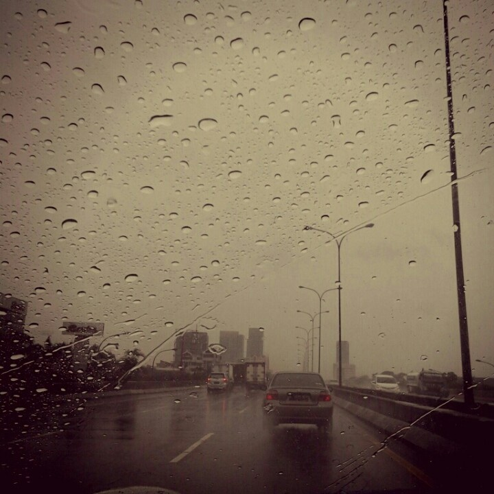 Cloudy & rainy Jakarta