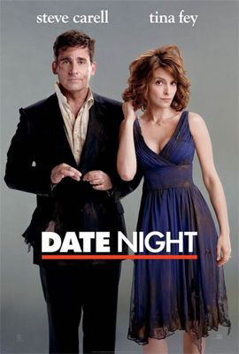 Date Night (2010) Who knew simple dinner reservations under a different name could turn one New Jersey couple's date night so terribly upside-down? Claire and Phil Foster leave their kids with the sitter and head out for a night on the town -- as the Tripplehorns.  Steve Carell, Tina Fey, Mark Wahlberg...TS comedy