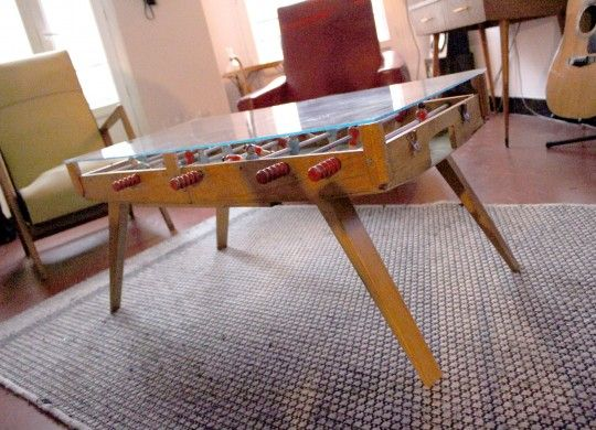 Foosball table design a collection of design ideas to try philippe starck - Table basse design galet ...
