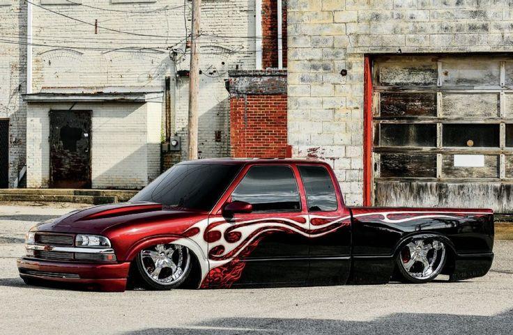 1995 Chevrolet S10 Shaved Body