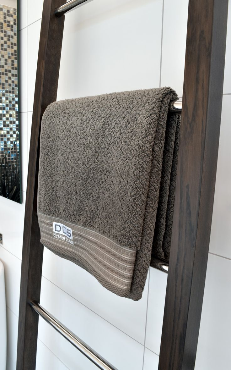 Bathroom radiators towel rails it is represent classic rectangular - Dcs Wooden Ladder Heated Towel Rail Www Dcshort Com