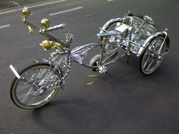 Bicicletas Custom De Ayer Y Hoy Trike Iv With Images Lowrider