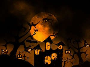 Free Halloween  desktop wallpaper From free image stock www.tOrange.us #Clipart #Background #Texture #Postcard  #diy #Congratulation #Halloween #Holiday #Luminaire #Attribute #Evil #Fear #Day #Saints #Night #Moon #Tree #Landscape  #Candle #Lamp   #Mask  #Entertainers #AllSaints #Fearful #Pumpkin #Leaves #Witch #Broom #Pumpkins #desktop #wallpaper