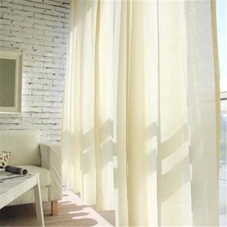 Fashion product hight quality natural high-grade tulle curtains modern sheer curtains for study and living room