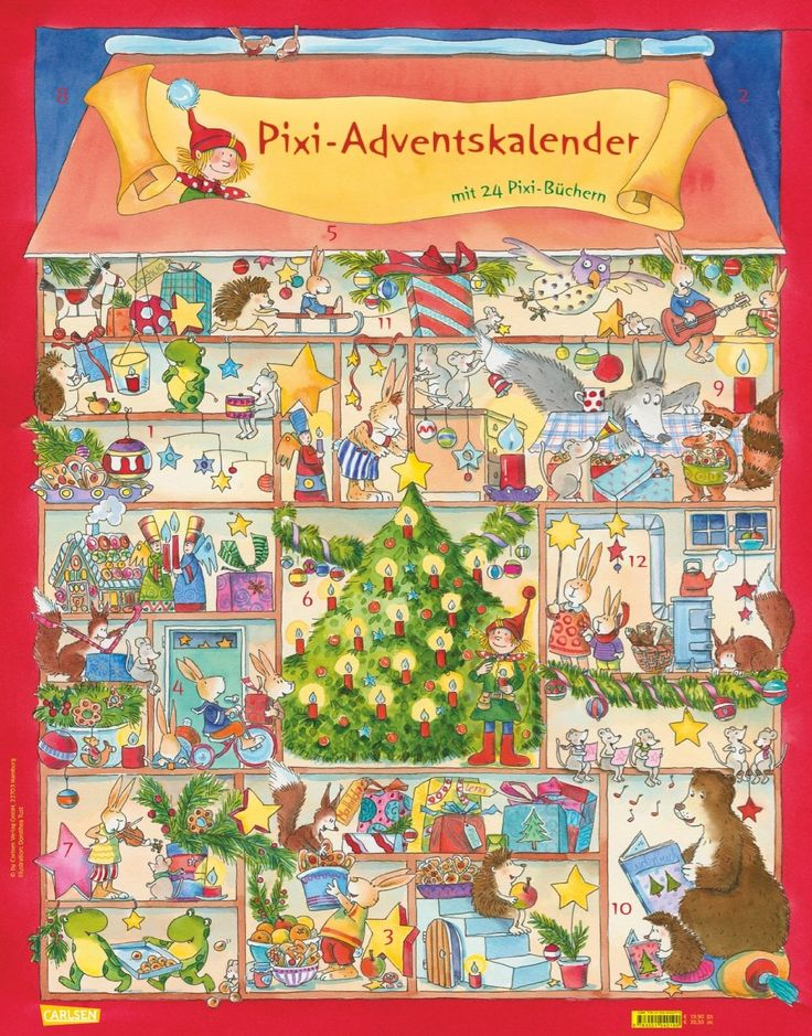 Pixi+Adventskalender+2013+-+24+Pixi+Bücher+im+Advent