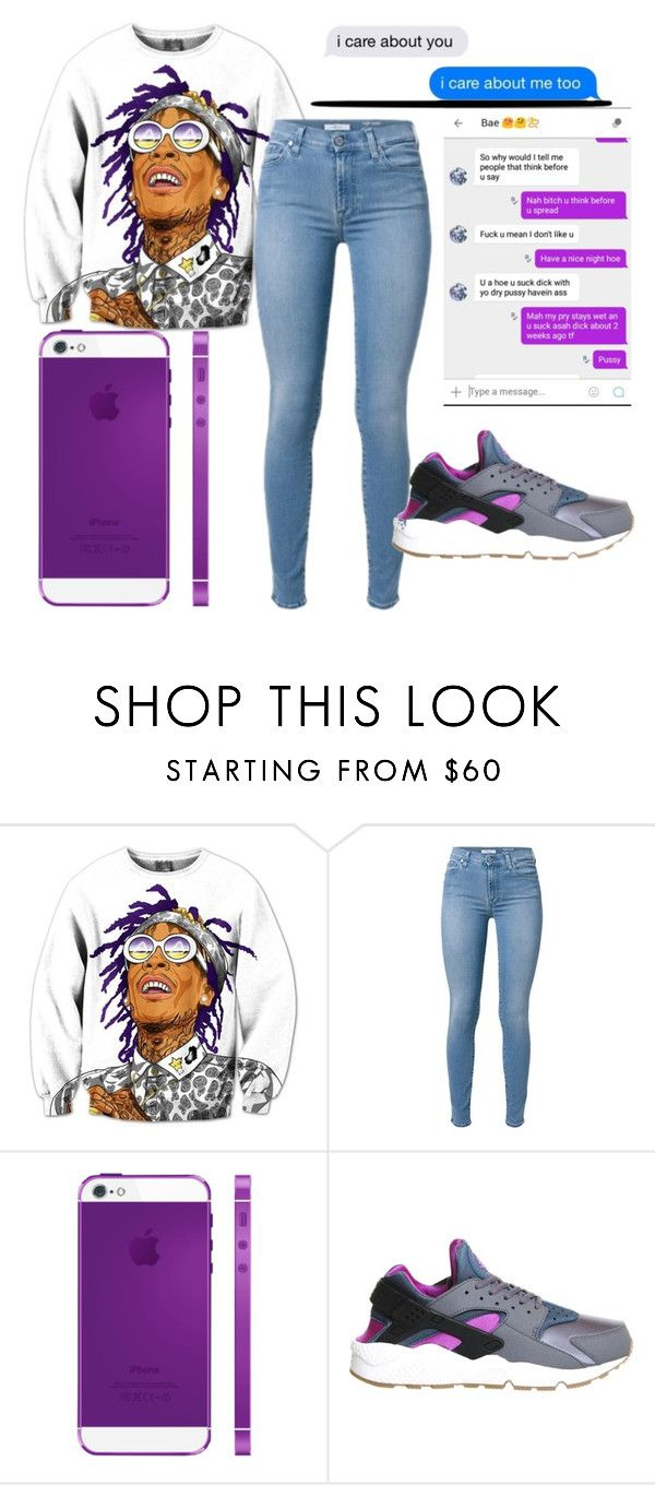 """""""Post up Ty Dolla $ign ft Wiz Kahlifa"""" by kimah101 ❤ liked on Polyvore featuring NIKE"""