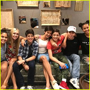 The 'Andi Mack' Cast Sings The Theme Song During Season One Finale Screening