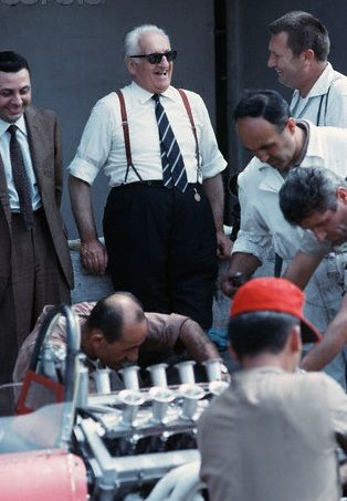 Enzo Ferrari 1966 - When F1 was a genuine sport where won really who was the best one.