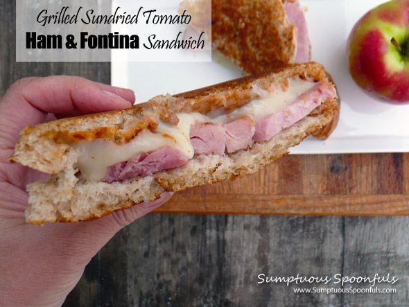 Sundried Tomato Grilled Ham & Fontina Sandwich | Recipe