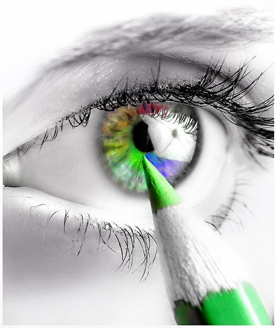 Illustraited eyes.