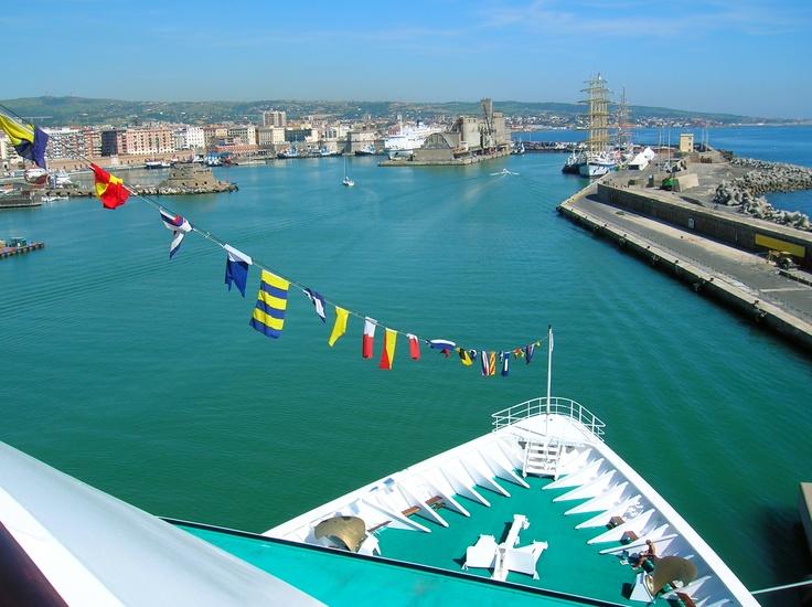 Civitavecchia, Italy - Crystal Cruise Lines