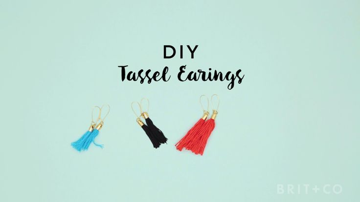 You can make a set of fringe tassel earrings with this style DIY video tutorial.