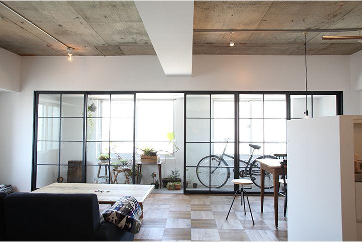 blue studioPARQUET | MUJI RENOVATION CLUB | MUJI HOUSE VISION