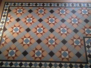 Victorian Floors in Derby - Tiles for period floors, minton floors, geometric floors